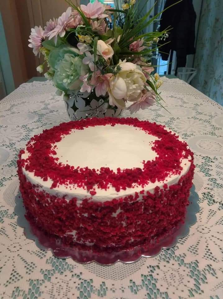 Торта Червено кадифе